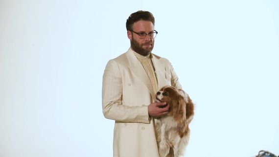 Behind the Scenes of Seth Rogen's GQ Cover Shoot