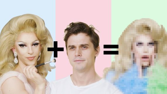 Antoni Porowski Gets a Drag Makeover from Miz Cracker | Drag Me