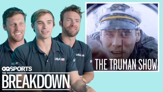 The US SailGP Team Breaks Down Iconic Sailing Movie Scenes