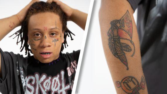 Trippie Redd Breaks Down His Tattoos