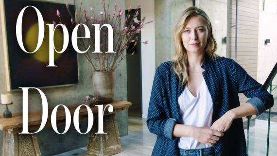 Inside Maria Sharapova's House with a Basement Bowling Alley