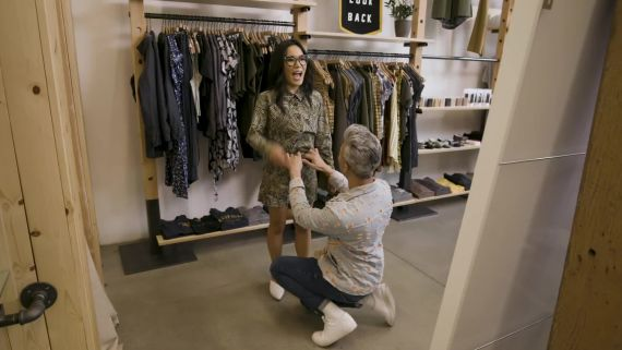 Tan France Schools Ali Wong in the Art of the French Tuck