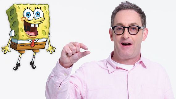 Tom Kenny (SpongeBob) Reviews Impressions of His Voices