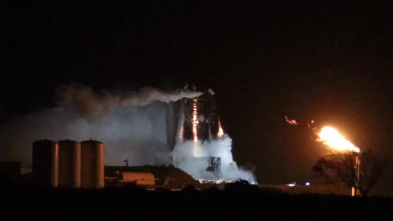Starhopper Static Fire