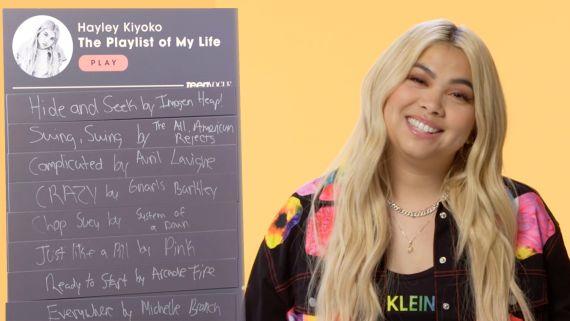 Hayley Kiyoko Creates The Playlist of Her Life
