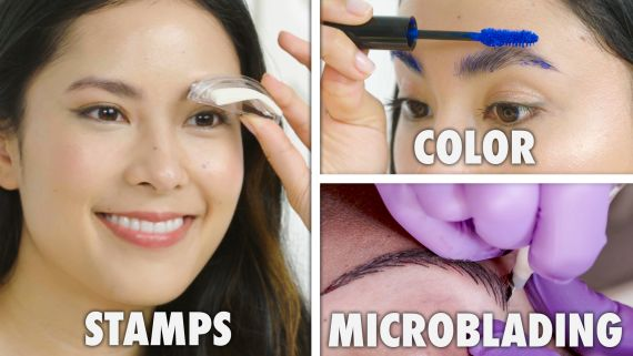 Every Method of Eyebrow Filling and Styling (17 Methods)