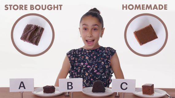 Kids Try Store-Bought vs Homemade Cake