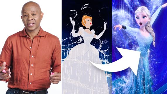 Disney Animation Designer Breaks Down Cinderella's Dress Transformation