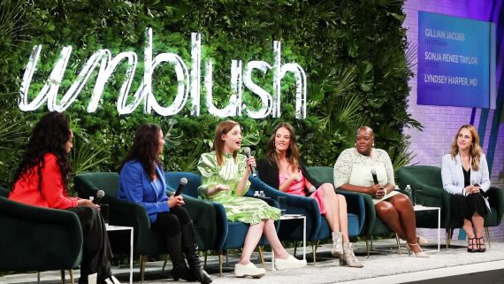 """""""Unblush"""" in NYC—inspiring women to own sexual desire wherever it falls on the spectrum, helmed by experts and comedians leading fun, fearless conversations."""