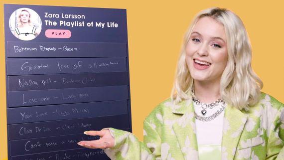 Zara Larsson Creates The Playlist of Her Life