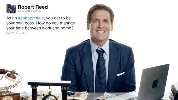 Mark Cuban Answers Mogul Questions From Twitter