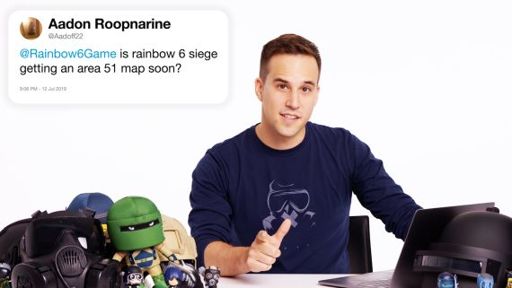 Ubisoft's Alexander Karpazis Answers Rainbow Six Siege Questions From Twitter