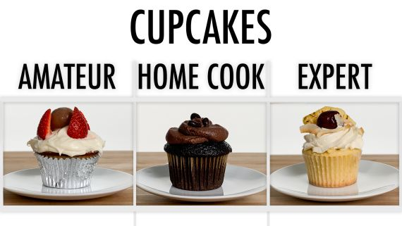 4 Levels of Cupcakes: Amateur to Food Scientist