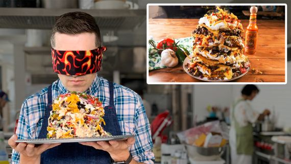 Recreating Guy Fieri's Trash Can Nachos From Taste