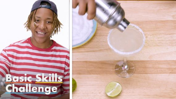 50 People Try To Make A Margarita