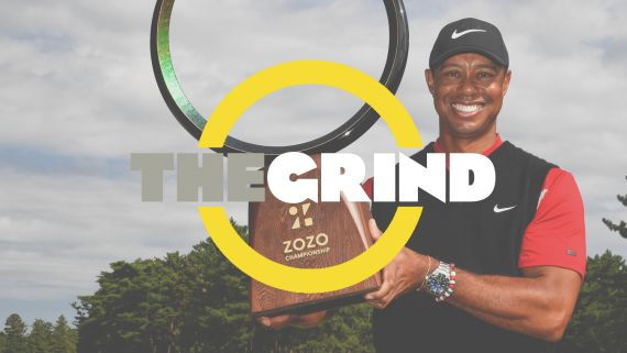 Tiger Woods' record-tying win
