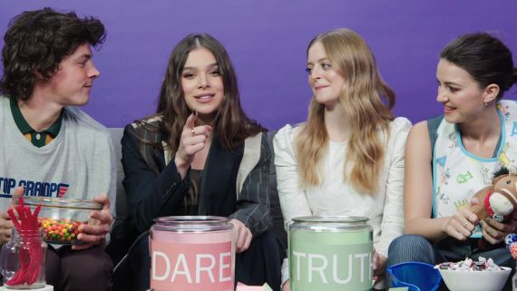 Hailee Steinfeld and The Cast of Dickinson Play I Dare You