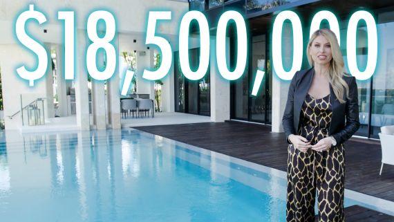Inside a $18.5M Miami Beach Party House