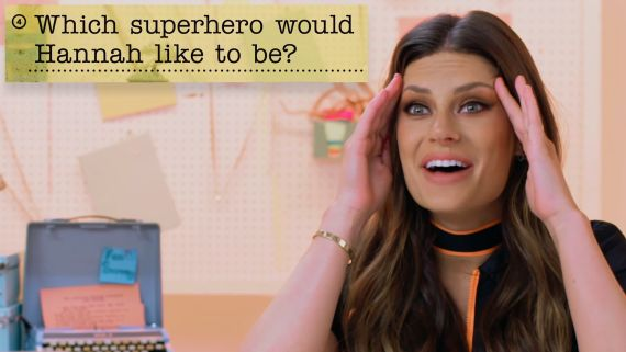 Hannah Stocking Guesses How 1,599 Fans Responded to a Survey About Her
