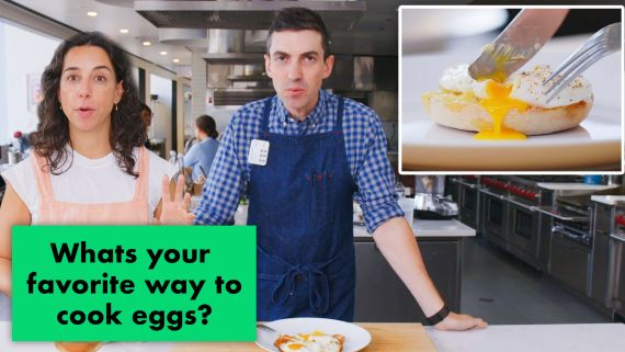Pro Chefs Make Their Favorite Egg Recipes