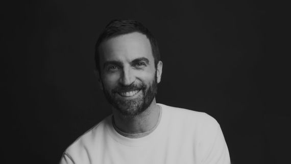 Nicolas Ghesquière Remembers his First Kiss and the Time he Sewed His Mother's Ski Overalls Into a Dress
