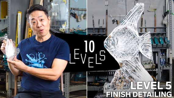 10 Levels of Ice Sculpture: Easy to Complex