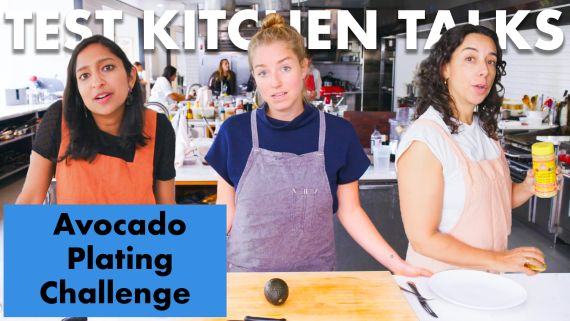 Pro Chefs Challenged to Plate an Avocado in 1 Minute