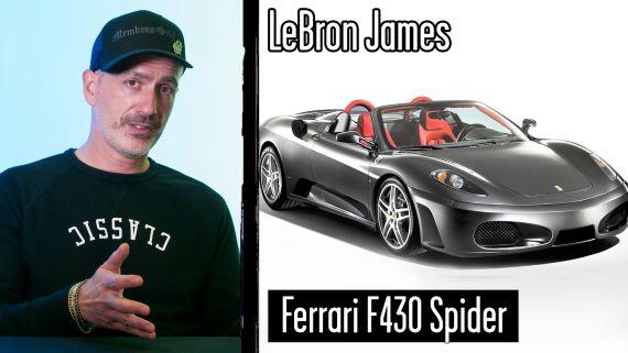 Car Expert Breaks Down Athlete Cars (Odell Beckham Jr, LeBron James)