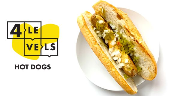 4 Levels of Hot Dogs: Amateur to Food Scientist