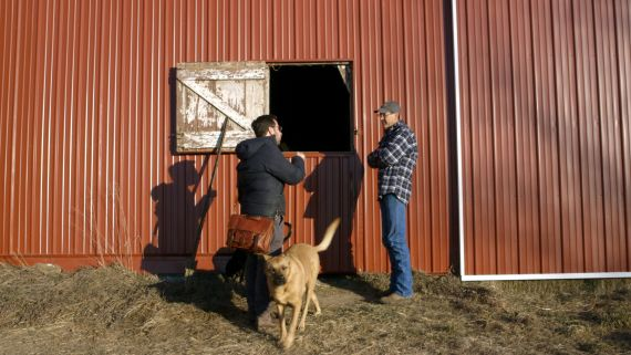 Why an Iowa Farmer Became a Campaign Stop for Candidates