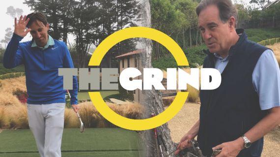 Hello, friends: Welcome to Jim Nantz's backyard golf hole