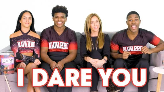The Cast of Netflix's 'Cheer' Play I Dare You