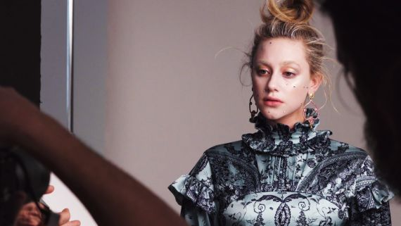 Lili Reinhart's Cover Shoot - Behind The Scenes
