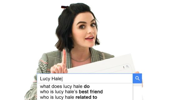 Lucy Hale Answers the Web's Most Searched Questions