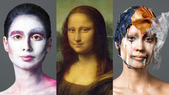 3 Makeup Artists Turn a Model Into The Mona Lisa
