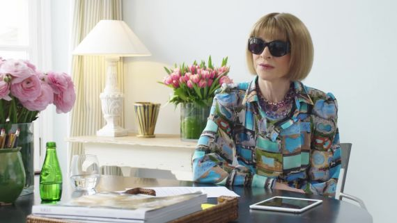 Anna Wintour Shares Her Fashion Month Favorites and Go-To Interview Question