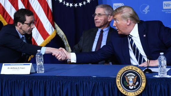 12 Times President Trump Shook Hands During the COVID-19 Outbreak