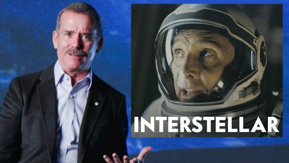 Astronaut Chris Hadfield Reviews Space Movies, from 'Gravity' to 'Interstellar'