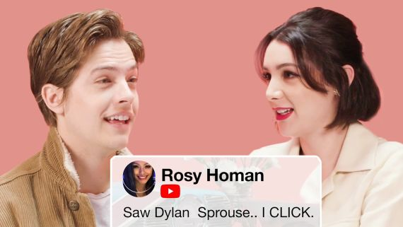 Dylan Sprouse and Hannah Marks Compete in a Compliment Battle