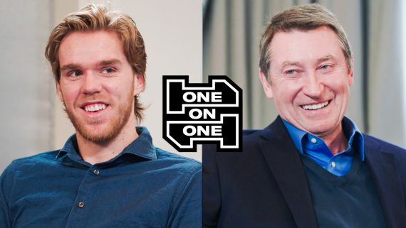 Wayne Gretzky and Connor McDavid Have an Epic Conversation