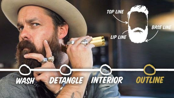 How to Trim Your Beard at Home (4 Step Tutorial)