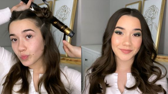 Laura Grace Shares How She Gets Her Classic Curls | Getting Ready For Virtual Prom