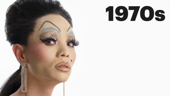 100 Years of Drag Makeup
