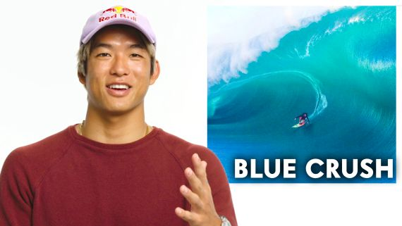 Pro Surfer Reviews Surf Movies, from 'Blue Crush' to 'Point Break'