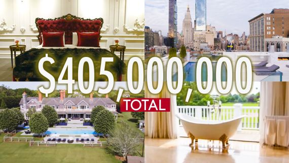 Inside $414M Worth of The Craziest Luxury Spaces On The Market