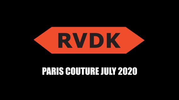 Ronald van der Kemp Fall 2020 Couture