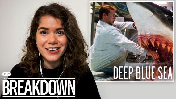 Marine Biologist Breaks Down Shark Attack Scenes from Movies