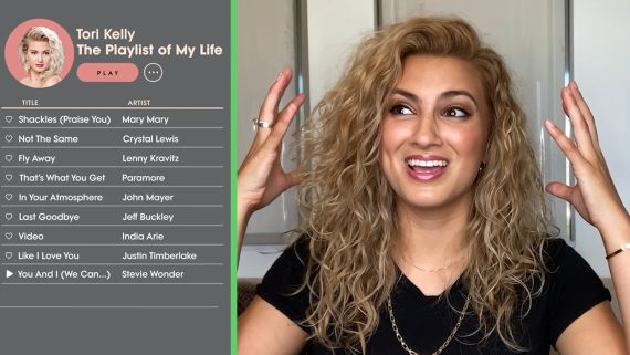 Tori Kelly Creates the Playlist of Her Life