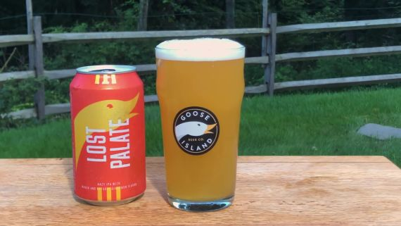 Goose Island's Lost Palate is a Hazy IPA with a Clear Mission