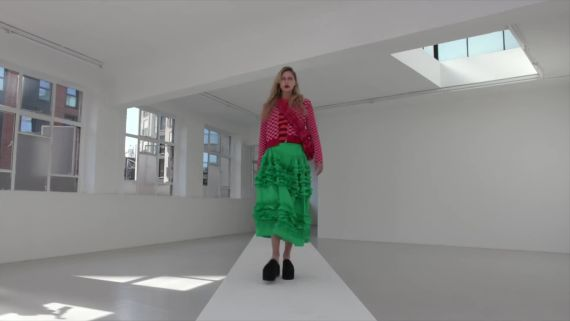 Watch the Molly Goddard Spring 2021 Ready-to-Wear Video